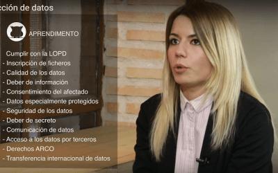 Lola Granados, coautora del GuíaBurros: RGPD, invitada como experta en el programa Aprendimiento TV