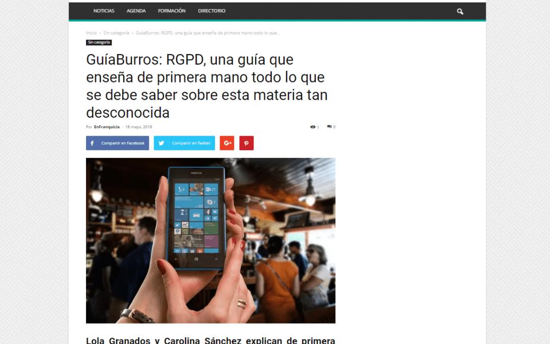 El GuíaBurros: RGPD en el medio online especializado Colaborum